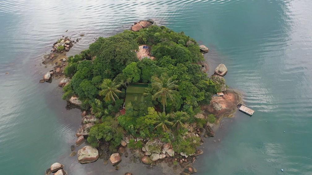 Ilha de Paraty ganha fama de mal-assombrada — Foto: Globo Repórter/ Reprodução