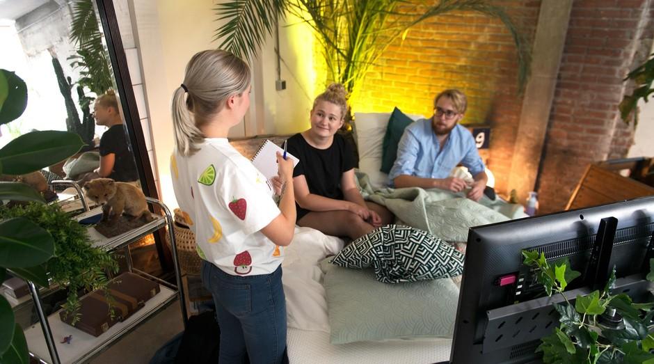 No Matt Hangover Bar, camas são disponiblizadas para curar a ressaca dos clientes (Foto: Facebook/Matt Hangover Bar)