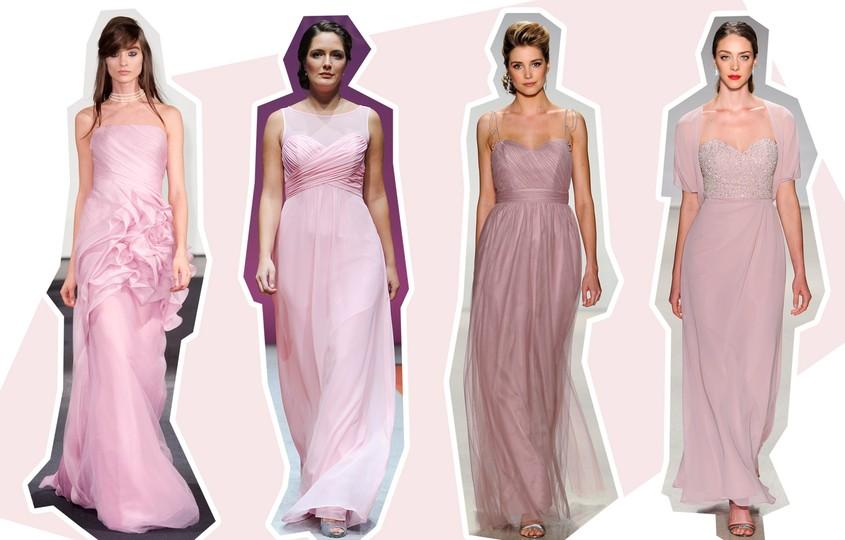 baa0b73c7 Vestidos de madrinha em tons pastel  10 looks clássicos