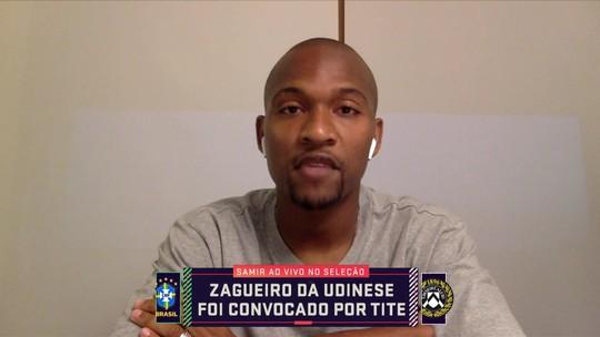 Samir, da Udinese, fala sobre conselho de Amoroso e como soube que seria chamado por Tite