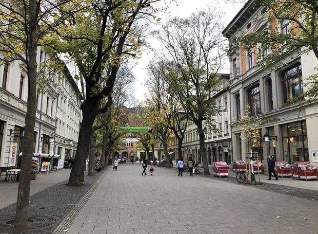 A pacata e charmosa cidade de Weimar é tombada pela UNESCO como Patrimônio da Humanidade (Foto: Stéphanie Durante/Editora Globo)