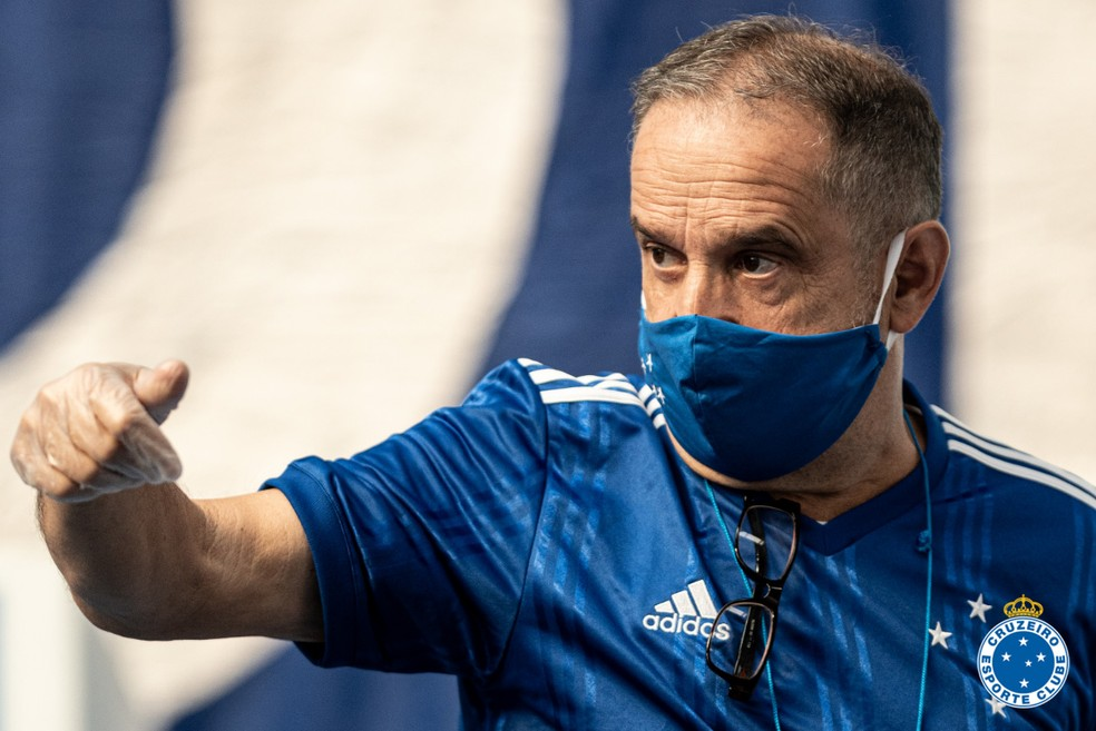 Paulo César Pedrosa é o novo presidente do conselho do Cruzeiro — Foto: Gustavo Aleixo