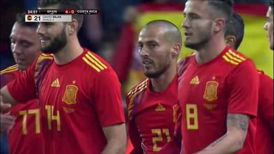 David Silva segue Iniesta e Piqué e anuncia aposentadoria da seleção espanhola