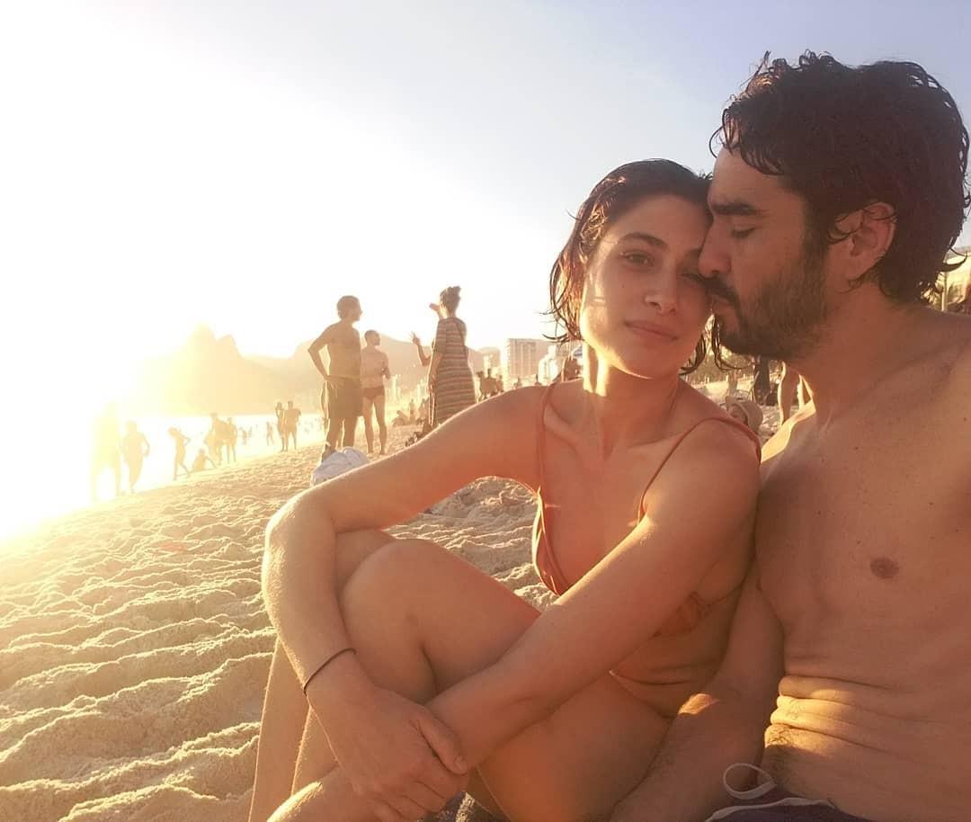 Caio Blat e Luisa Arraes (Foto: Reprodução/Instagram)