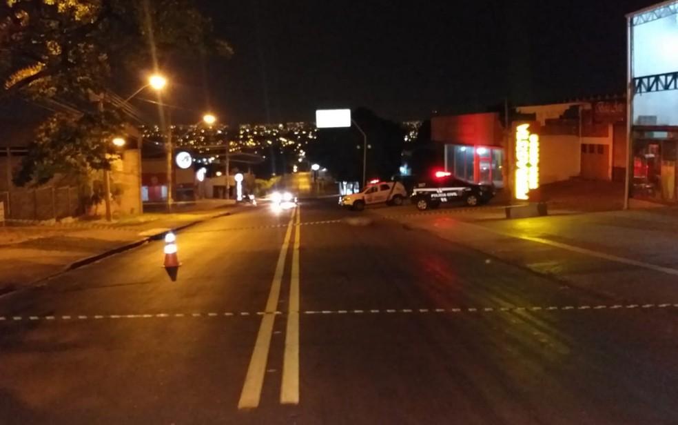 Mulher morre após ser atropelada em Goiânia, Goiás — Foto: Divulgação/Dict