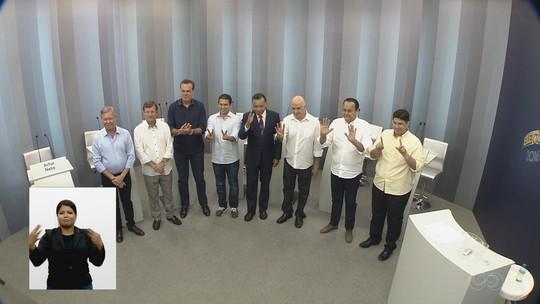Candidatos à Prefeitura de Manaus participam de último debate na TV