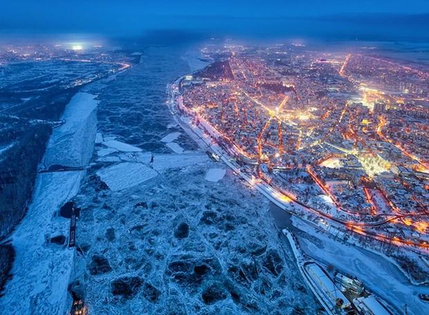 Concurso internacional de fotografia com drone (Foto: Yavor Michev/Reprodução)