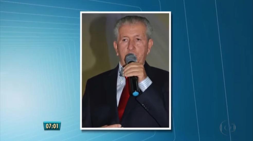 Prefeito de Catende, Otacílio Alves Cordeiro (PSB), foi preso durante a Operação Tsunami, deflagrada em junho de 2016 (Foto: Reprodução/TV Globo)