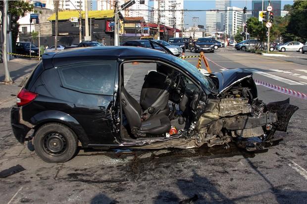 Acidente de carro (Foto: Foto: Agência O Globo)