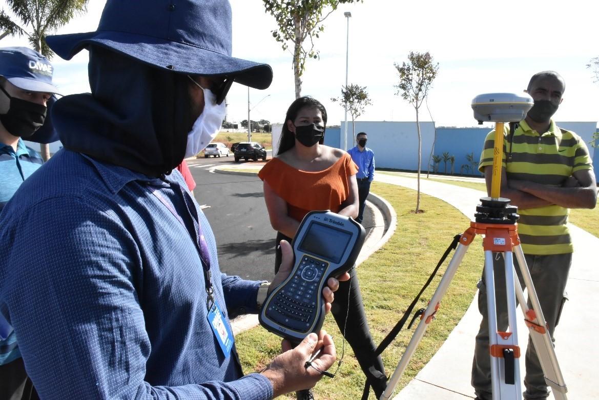 Dmae usará sistema de GPS para mapear Uberlândia e obter mais precisão no atendimento