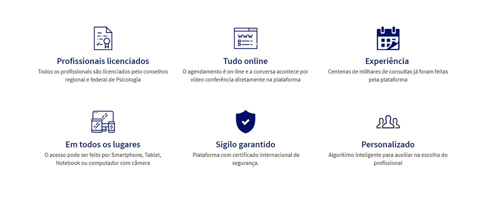 O portal Psicologia Viva oferece consultas gratuitas e com segurança — Foto: Reprodução/Guilherme Ramos