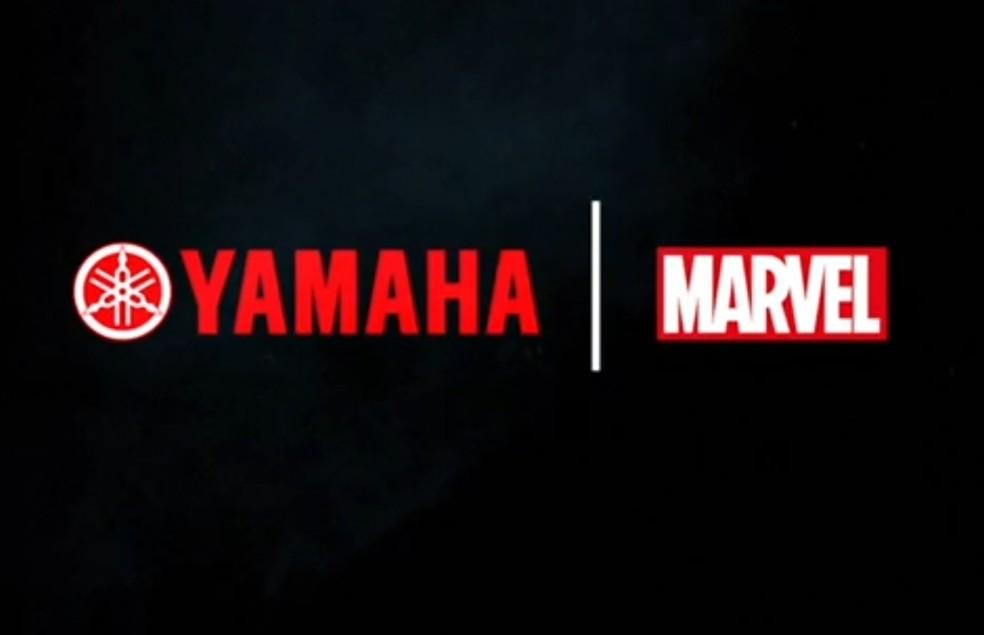 Yamaha faz parceria com a Marvel — Foto: Reprodução