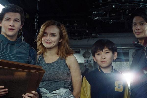 Os High Five, grupo dos heróis da trama (na imagem acima falta a atriz Lena Waithe), reúne atores jovens e de muita qualidade (Foto: Divulgação)