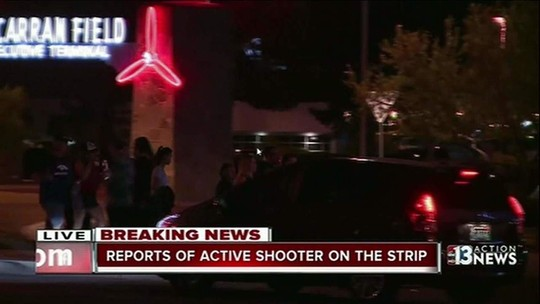 Brasileira em Las Vegas relata tumulto e pessoas se pisoteando