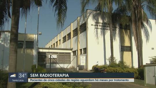 Mais de 60 pacientes com câncer esperam há meses para fazer radioterapia na região