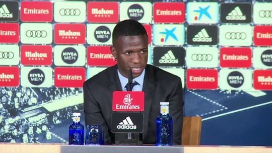 """Nalbert e Ricardinho analisam adaptação de Vinicius Junior no Real Madrid: """"Vai ter de aproveitar muito os treinos"""""""