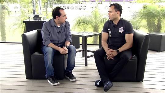 Jair Ventura fala com exclusividade ao SporTV News. Assista
