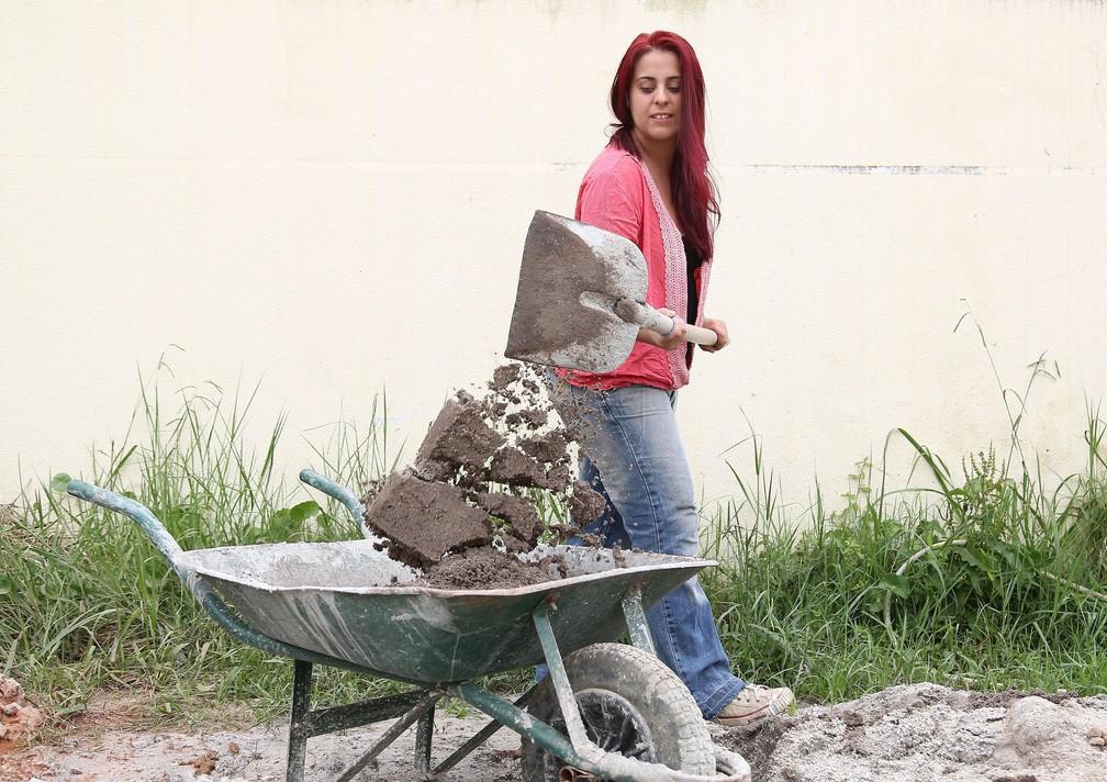 Nattasha Nobre decidiu se tornar marida de aluguel após perder o emprego e se separar do marido (Foto: Giuliano Gomes/PR PRess)