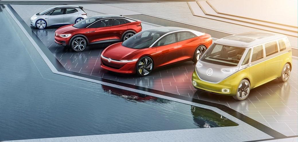 Linha VW Elétrica - projeções