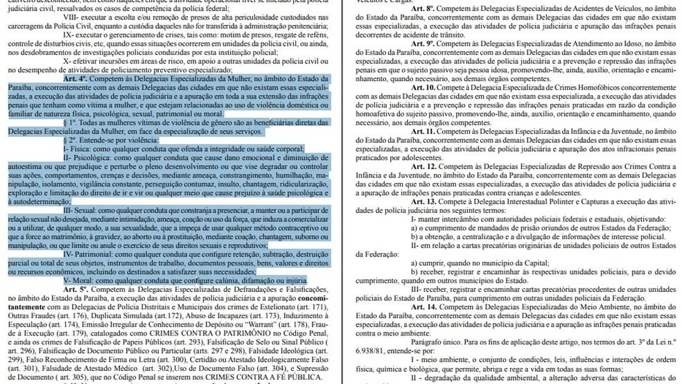 Portaria nº 351 foi publicada no dia 22 de maio de 2015, no Diário Oficial do Estado da Paraíba. (Foto: Reprodução/Diário Oficial do Estado)