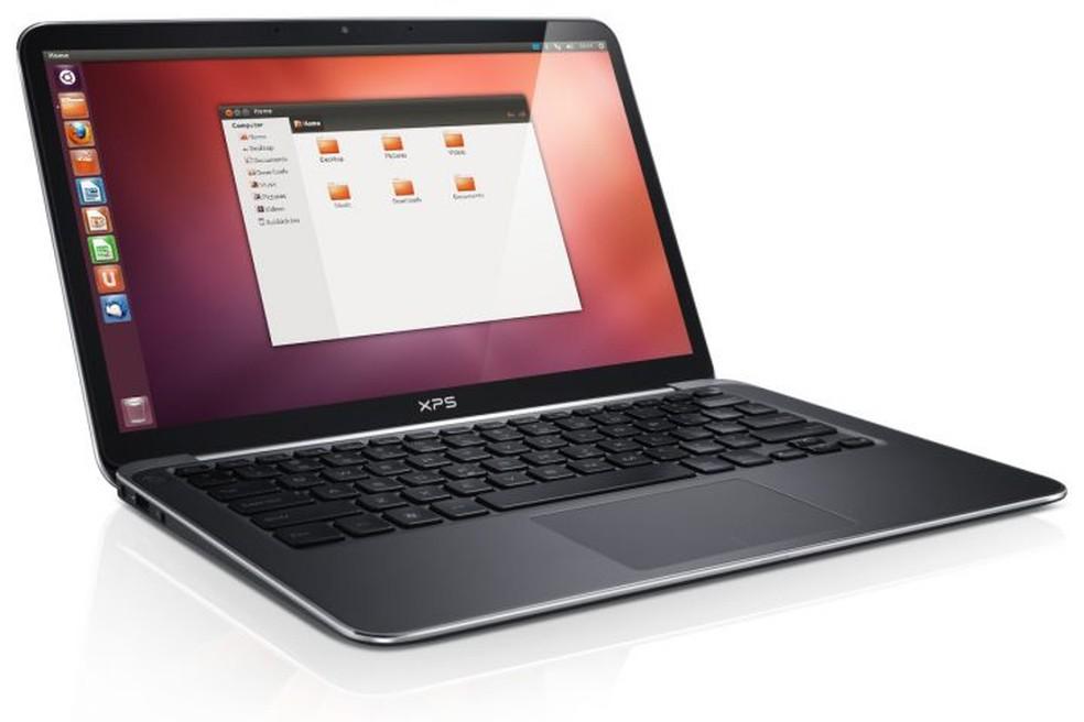 Notebook com Linux pode ser mais barato em relação ao mesmo hardware com Windows. — Foto: Divulgação/Dell