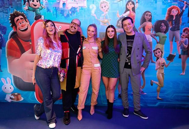 Mari Moon, Tiago Abravanel, Luísa Sonza, Giovanna Lancellotti e  Rafael Cortez (Foto: Divulgação)
