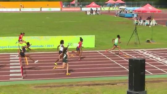 Campeã mundial escolar, Micaela Rosa vence os 100m com barreiras nos JE