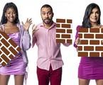 Camilla de Lucas, Gilberto e Pocah estão no paredão do 'BBB' 21 | Reprodução