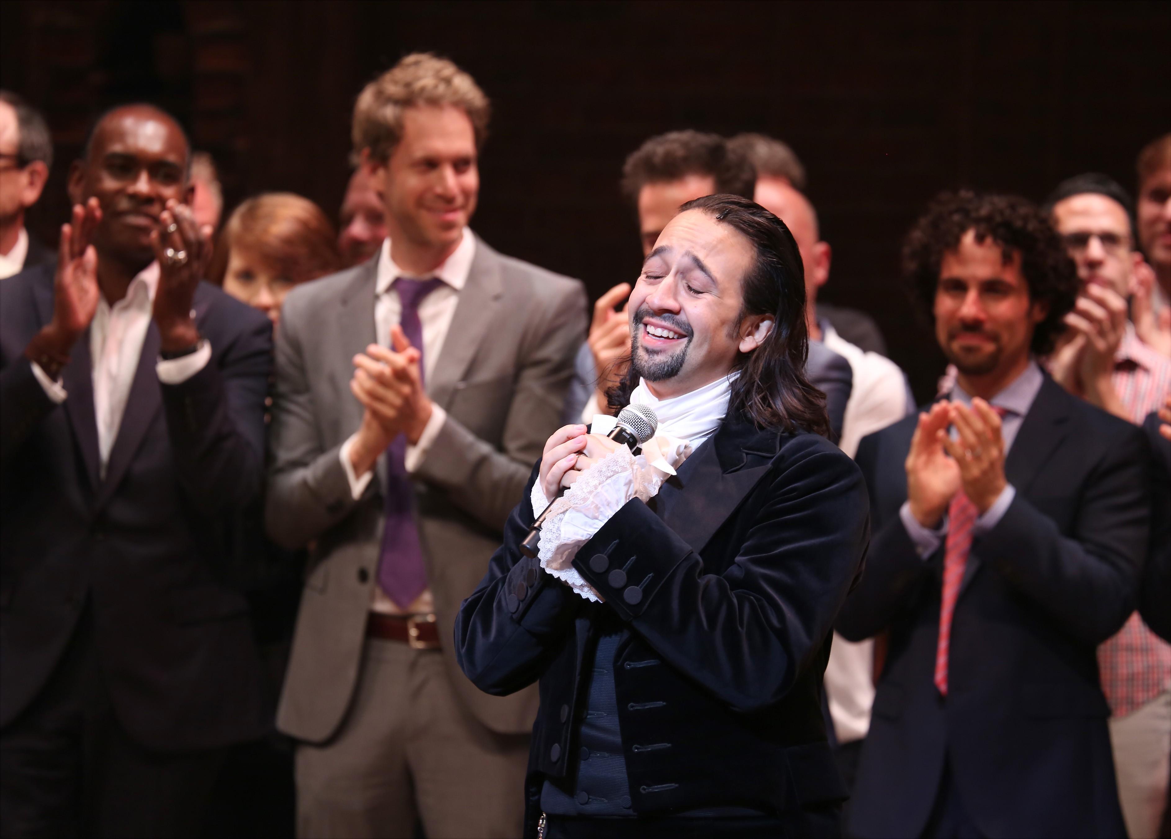 Noite de abertura de Hamilton na Broadway, em 2015 (Foto: Walter McBride / Contributor)