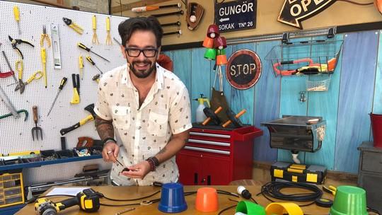 Fábio Basso ensina a fazer luminária inspirada na do BBB