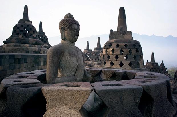 O templo Borobudur, também na ilha (Foto: Cortesia Aman e Divulgação)