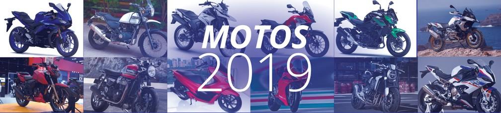 Motos esperadas para 2019 — Foto: G1/Divulgação