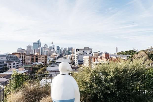 Cobertura ou oásis na cidade? Um dúplex com jardim na Austrália (Foto: Felix Forest/ Divulgação)