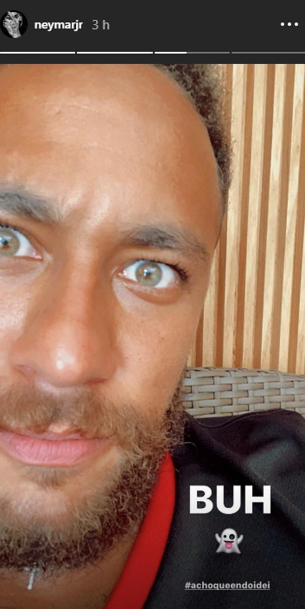 O post de Neymar (Foto: Reprodução Instagram)