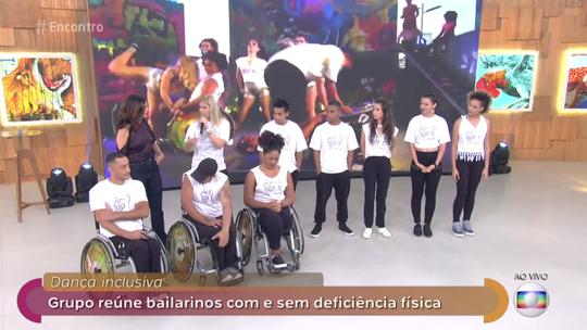 'Encontro' recebe o grupo de dança inclusiva Corpo em Movimento