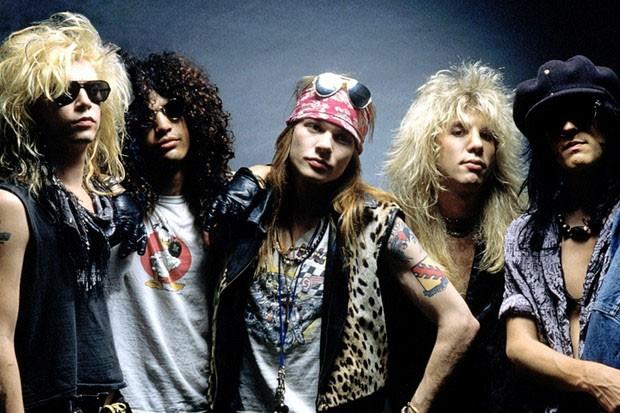 O estilo dos ícones do rock (Foto: Getty Images / Reprodução)