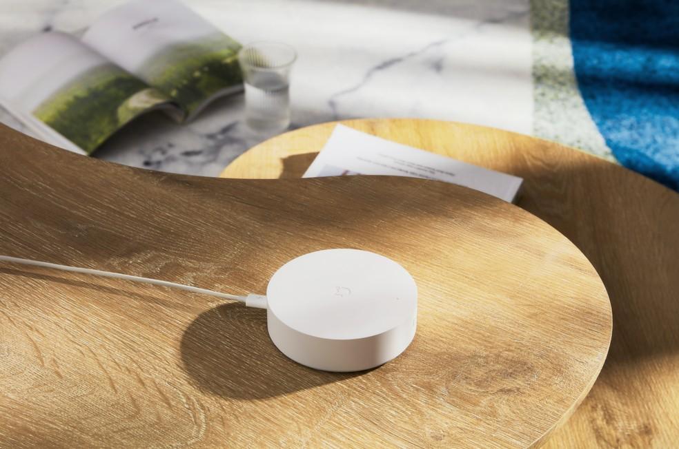 Mi Smart Sensor Set 2 traz sensores para porta e janela — Foto: Divulgação/Xiaomi