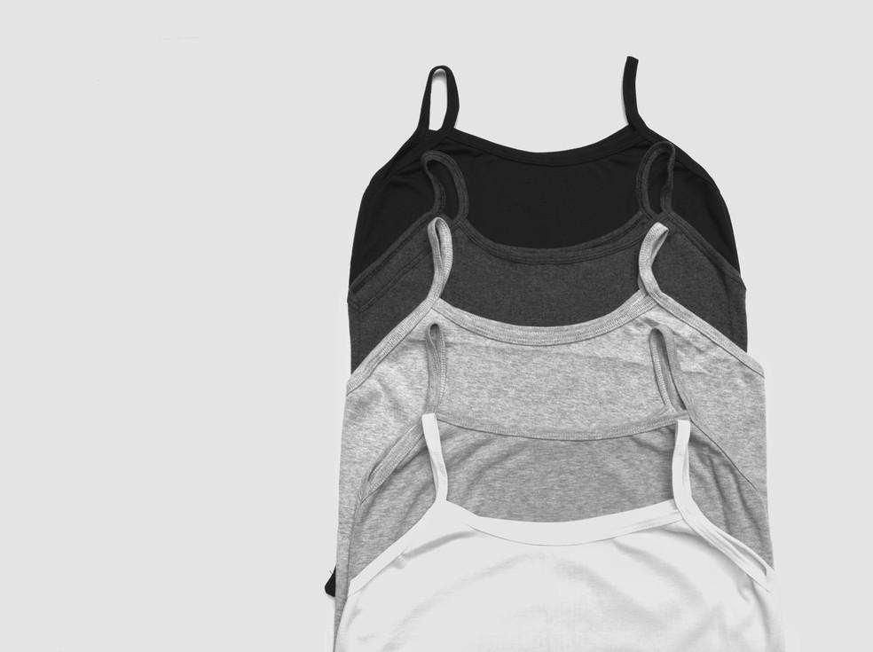 Preto, branco, cinza e marrom podem ajudar quando usadas nas roupas — Foto: Reprodução/Unsplash
