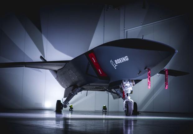 Aeronave autônoma da Boeing (Foto: Divulgação/Boeing)