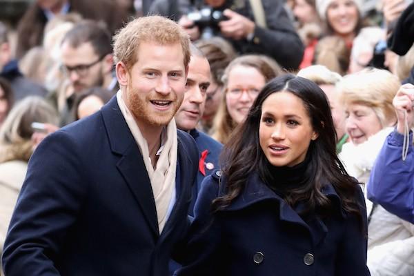 O Príncipe Harry e a atriz Meghan Markle (Foto: Getty Images)