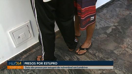 Dois homens suspeitos de estuprar estudante são presos em Londrina