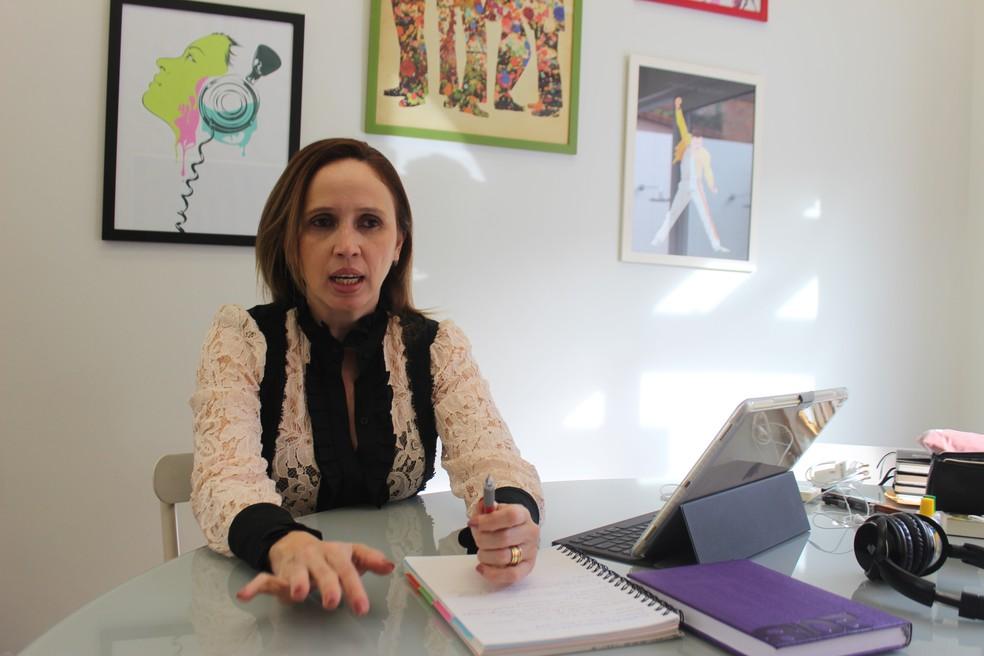 Superintendente de parcerias público-privadas do Piauí, Viviane Moura — Foto: Lucas Marreiros / G1