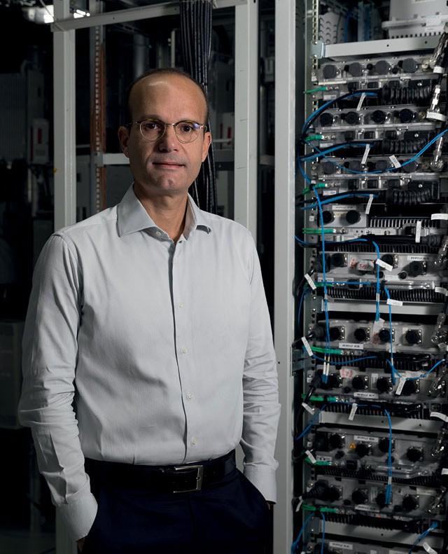 Silmar Palmeira, diretor de inovação e tecnologia da TIM (Foto: Leo Lemos)