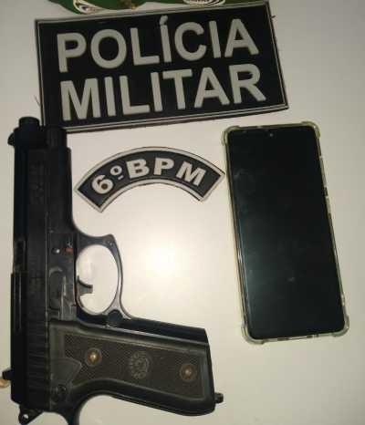 Homem suspeito de tentar vender celular roubado na internet é preso na capital