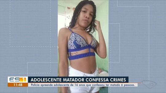 Namorado diz à polícia que matou jovem por causa de mensagem e confessa 6 homicídios no ES