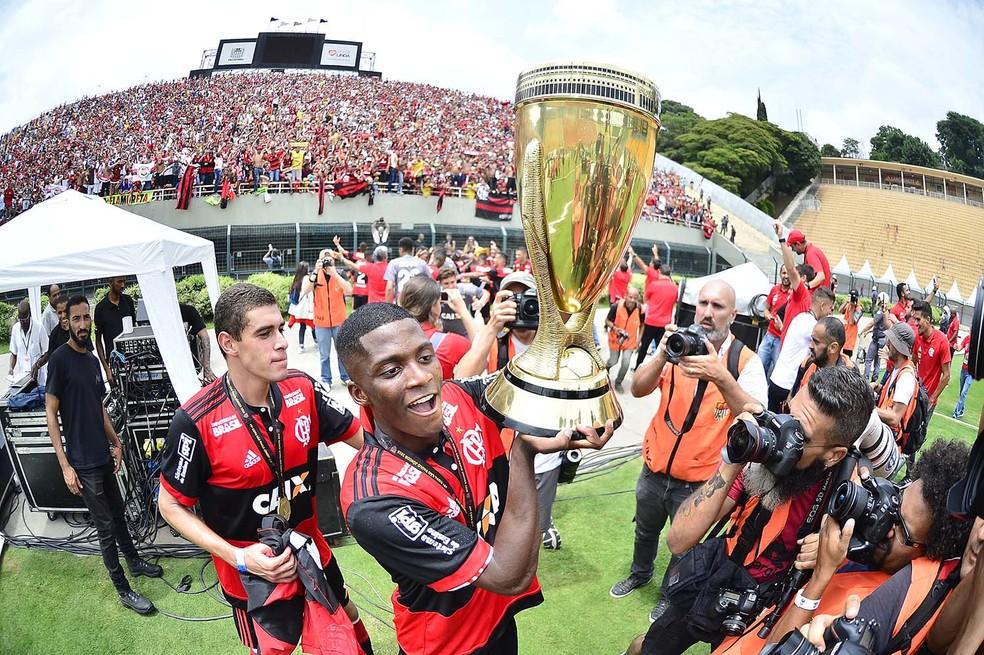 Flamengo é o atual campeão da Copa São Paulo de Futebol Júnior — Foto: Marcos Ribolli
