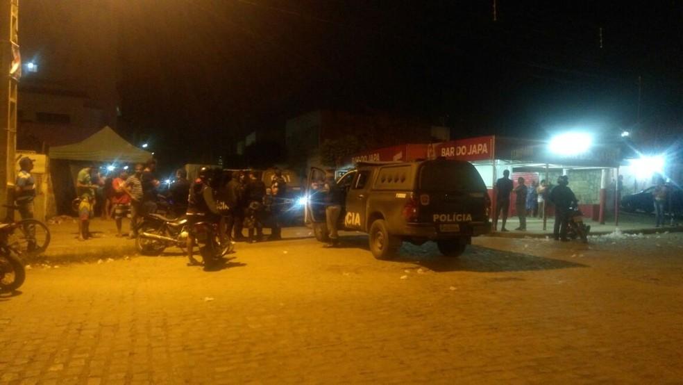 Crime aconteceu durante a madrugada em Santa Cruz do Capibaribe (Foto: Ney Lima / Arquivo Pessoal)
