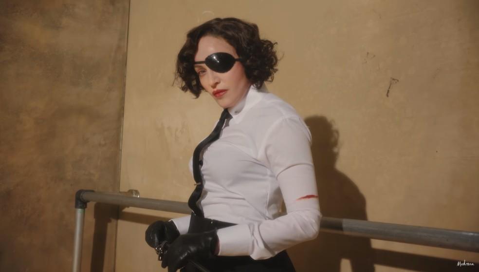 Madonna no teaser do novo disco'Madame X' — Foto: Reprodução/YouTube/Madonna
