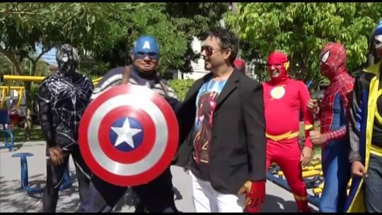 É do Pará faz encontro do Tony Stark paraense com a banda Os Vingadores do Brega
