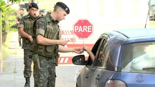Exército reforça fiscalização para combater tráfico e contrabando na fronteira do RS